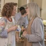"""Diane Keaton e Lesley Manville in """"Appuntamento al parco"""""""