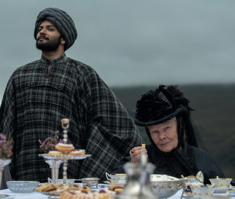 Vittoria e Abdul con Judi Dench, foto