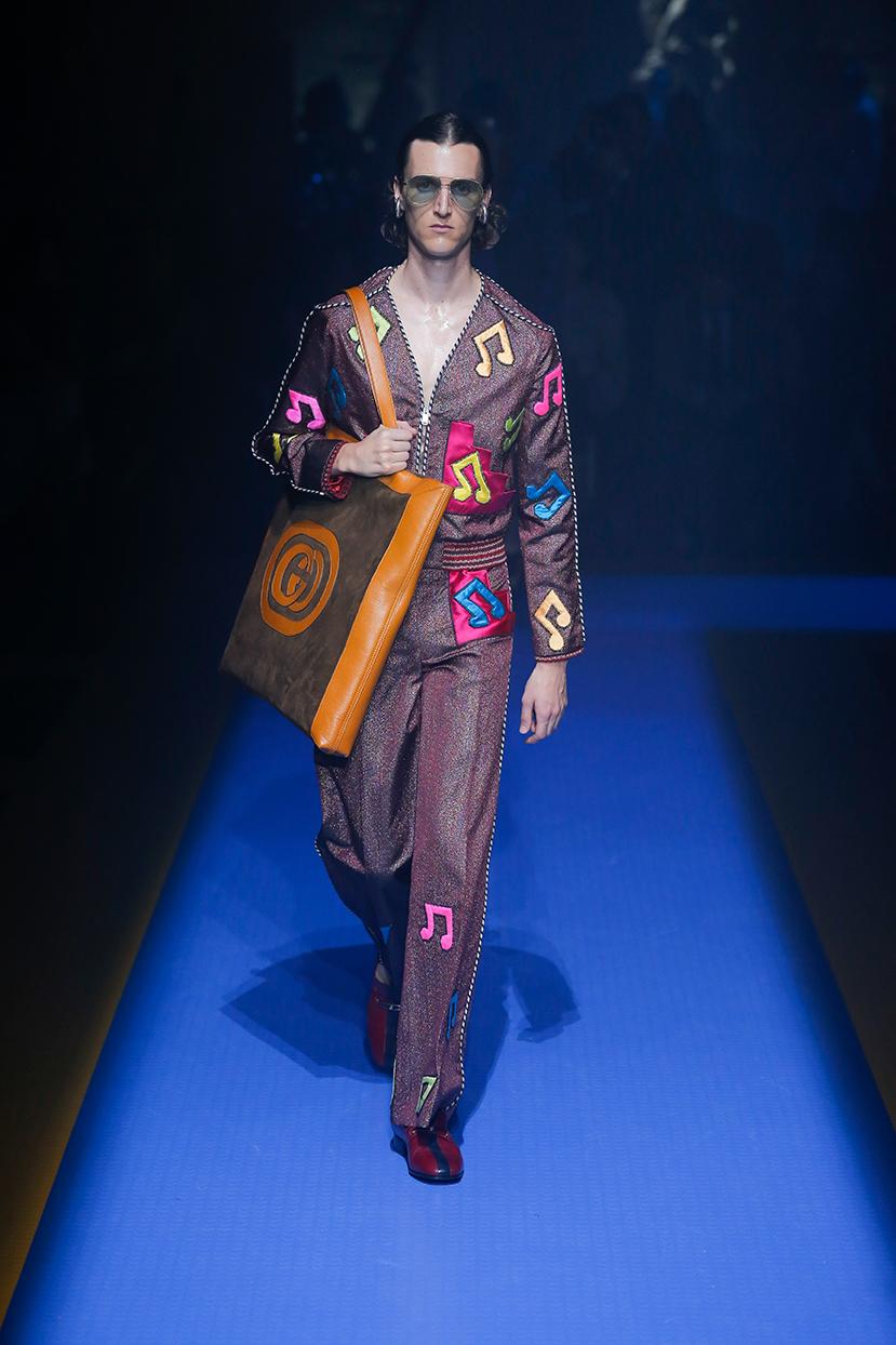 Gucci collezione Primavera Estate 2018, foto