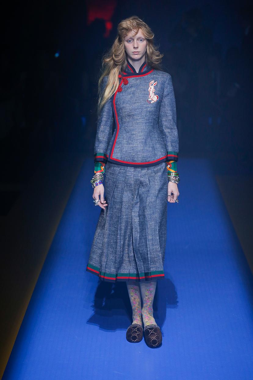 Completo Gucci Primavera Estate 2018
