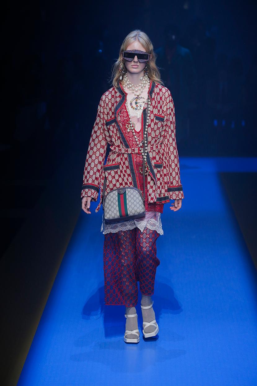 Pantaloni Gucci Primavera Estate 2018