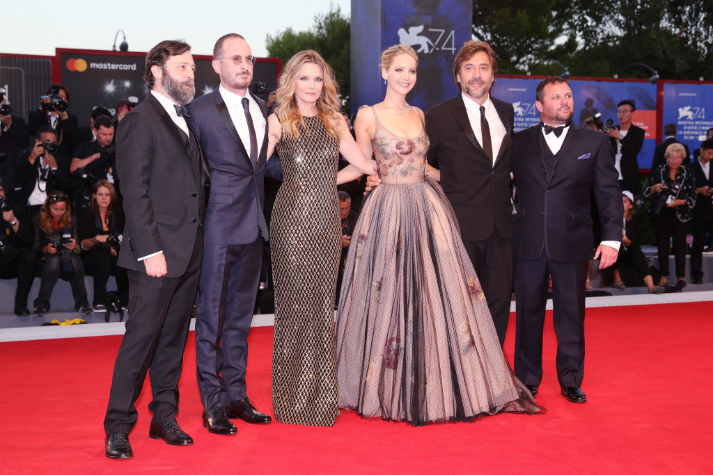 Jennifer Lawrence e Darren Aronofsky: il primo red carpet