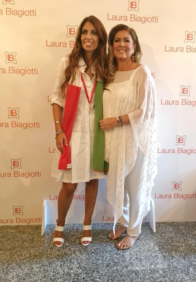 Laura Biagiotti primavera estate 2018, foto