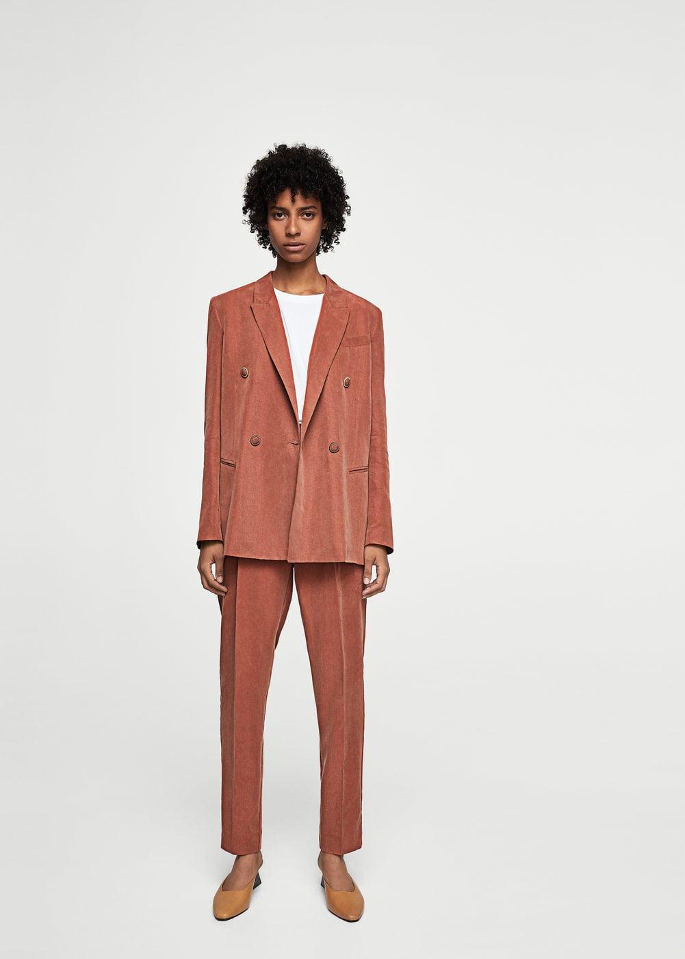 Tendenze moda autunno inverno 2017-2018, il tailleur pantalone, foto e prezzi