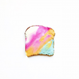 Mermaid Toast (da Instagram)