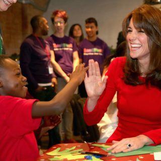 Kate Middleton in un video dopo l'annuncio della gravidanza