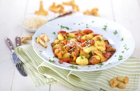 5 ricette di pasta con i funghi
