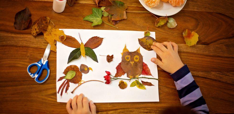 Lavoretti autunno scuola infanzia zl96 regardsdefemmes for Lavoretti per scuola infanzia