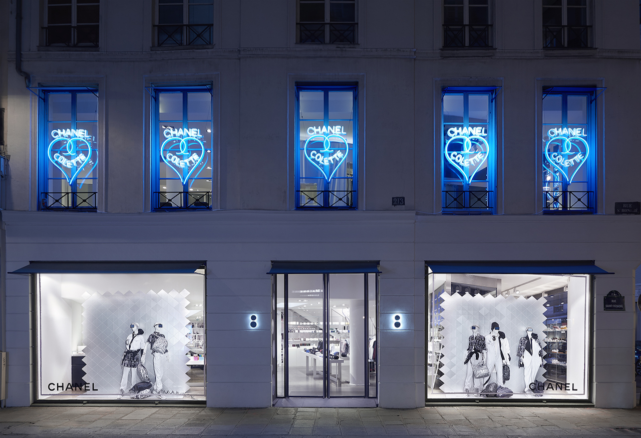 Chanel at Colette, foto
