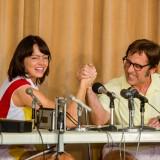 Steve Carrell ed Emma Stone ne La battaglia dei sessi
