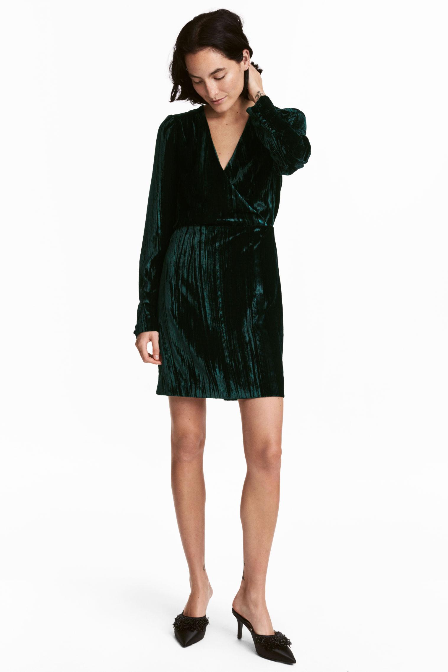 I vestiti di velluto della moda inverno 2018, foto e prezzi