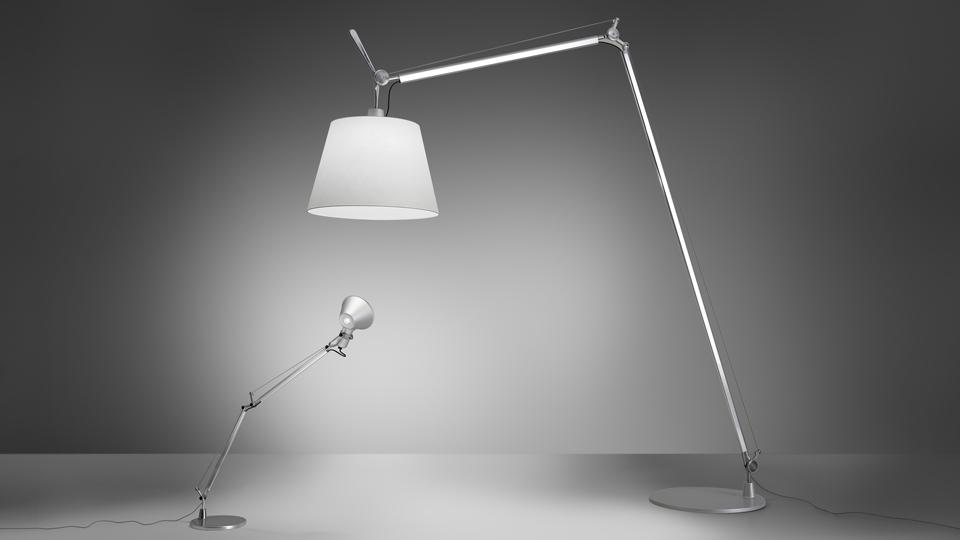 Lampada Artemide Tolomeo da 160 euro circa