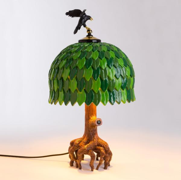 Lampada Tiffany Tree Lamp 540 euro