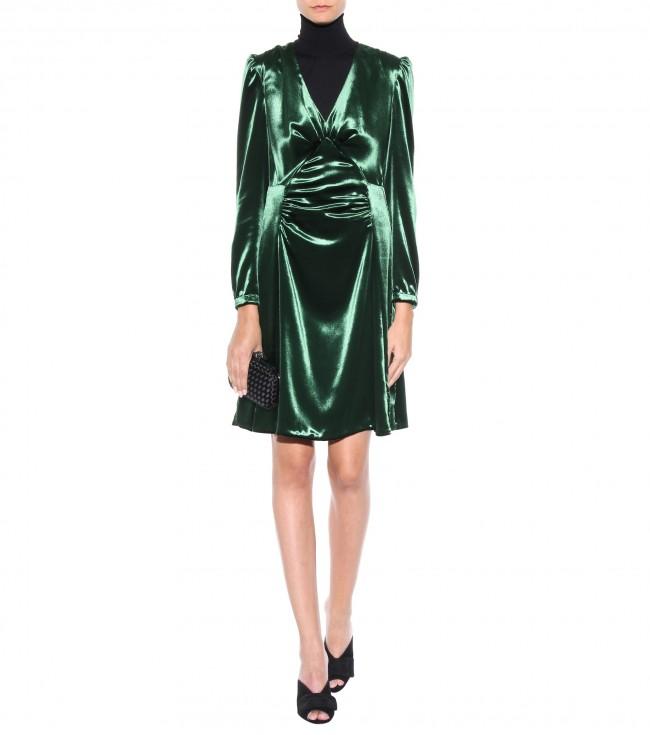 Prada Abito verde smeraldo 1.450 euro su mytheresa