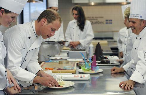 Il Principe William prepara le lasagne a Kate Middleton con i consigli di Giada De Laurentiis