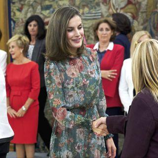 Letizia Ortiz: splendida con un abito Zara