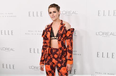 Kristen Stewart: look sexy per la cerimonia di Elle Women a Los Angeles