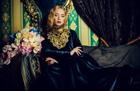 Moda inverno 2018: vestiti di velluto