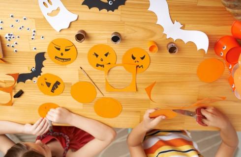 5lavoretti di Halloween per bambini con carta
