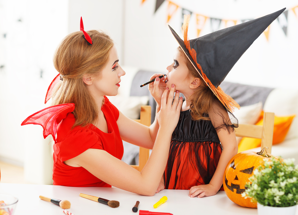 Halloween: come truccare i bambini