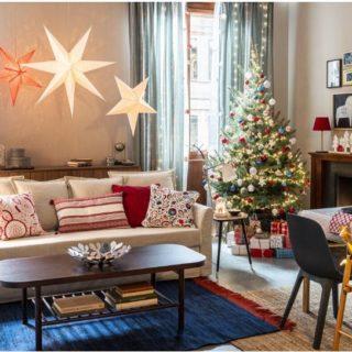 Inspiration: decorare la casa con i cuscini di Natale