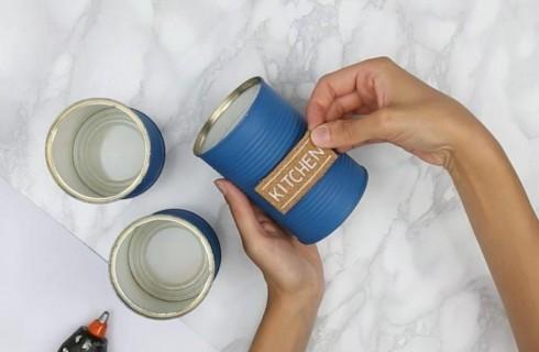 Tre modi creativi per utilizzare i barattoli di latta
