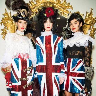 Dolce & Gabbana incantano Londra con l'Alta Sartoria