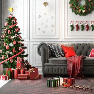10 addobbi di Natale per decorare casa stanza per stanza