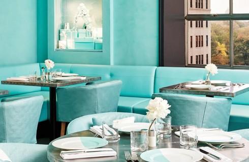 Tiffany apre il ristorante Blue Box Café nel negozio di New York