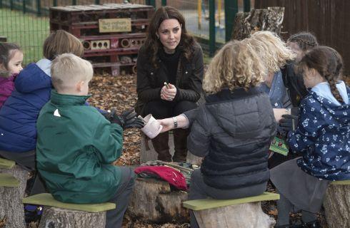 Kate Middleton, il Principe George e la Principessa Charlotte hanno lo stesso hobby