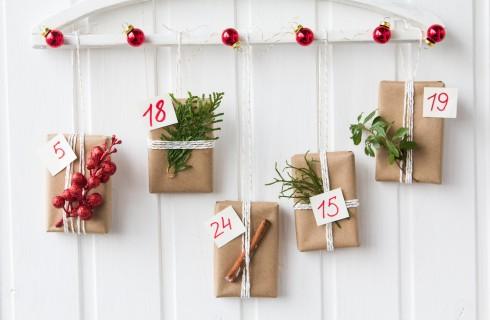 Calendario avvento fai da te, le idee più belle