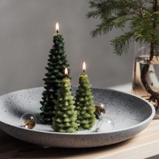 Centrotavola natalizi dal design moderno
