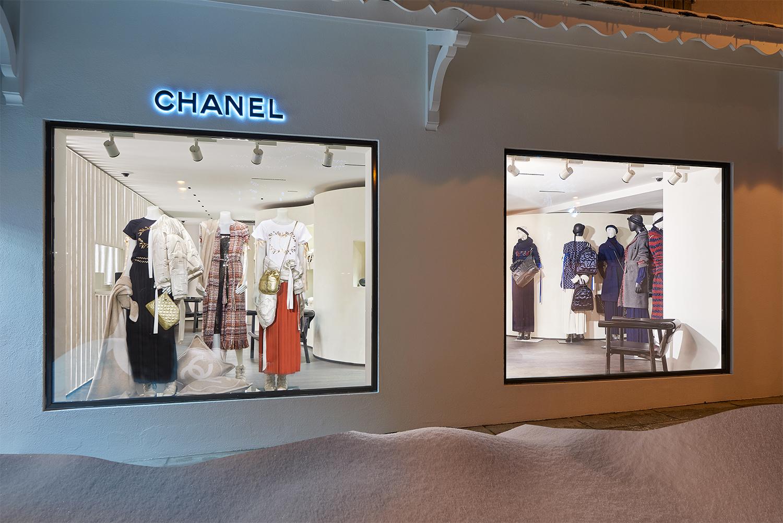Boutique Effimera di Chanel a Courchevel, le foto