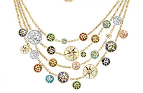 Dior Rose des vents: la nuova collana omaggio a Monsieur Dior