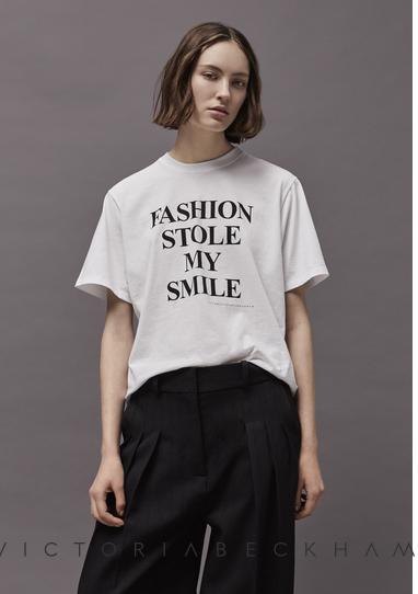 Victoria Beckham t-shirt bianca