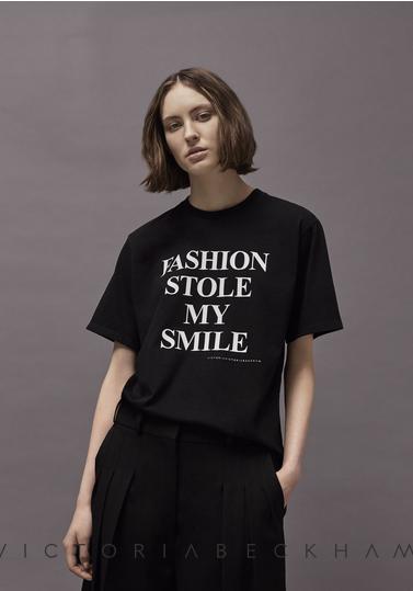Victoria Beckham t-shirt nera