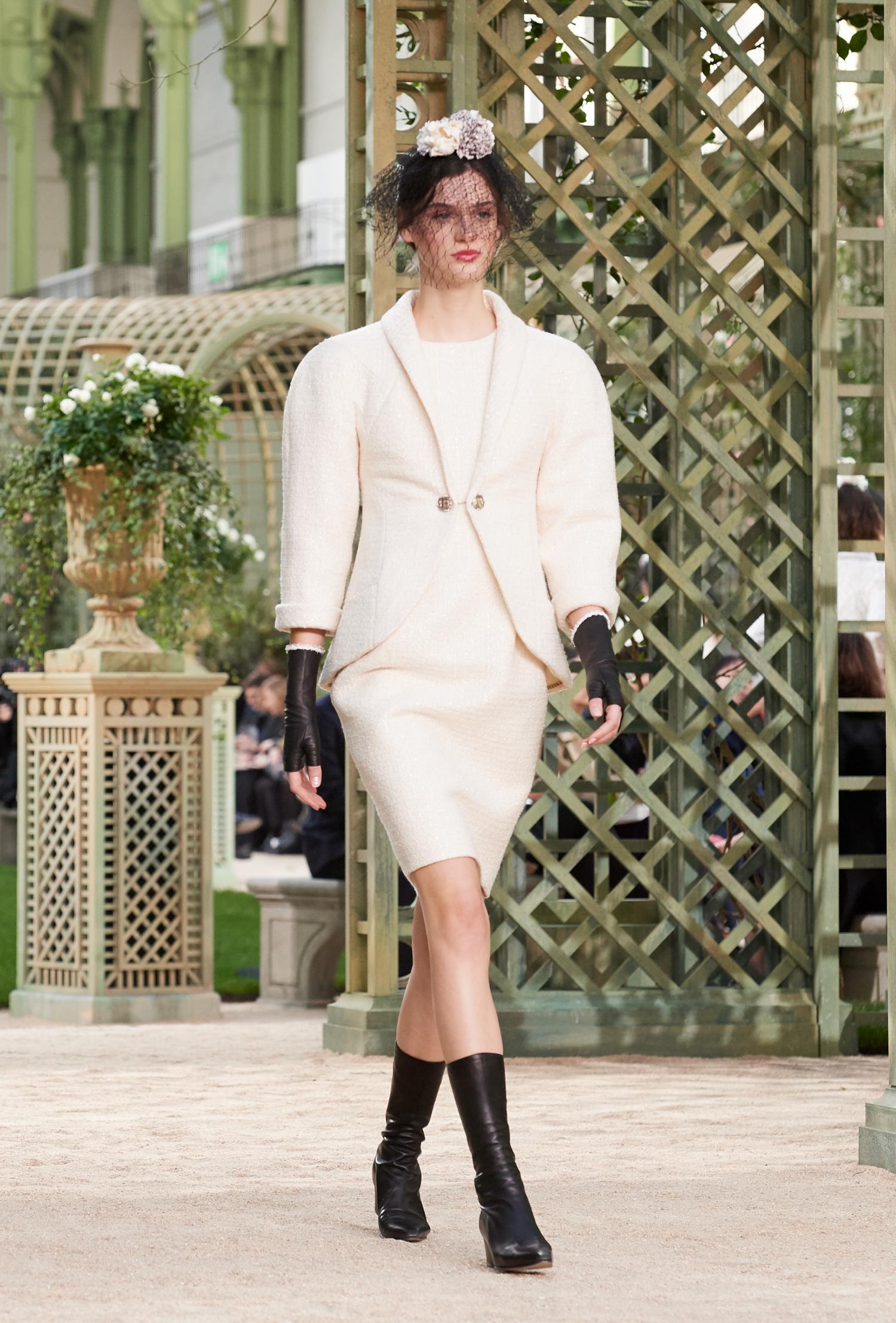 Chanel Haute Couture Primavera-Estate 2018, le foto