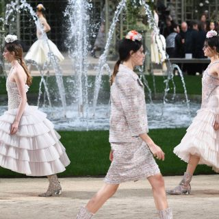 Haute Couture: nel giardino in fiore di Chanel