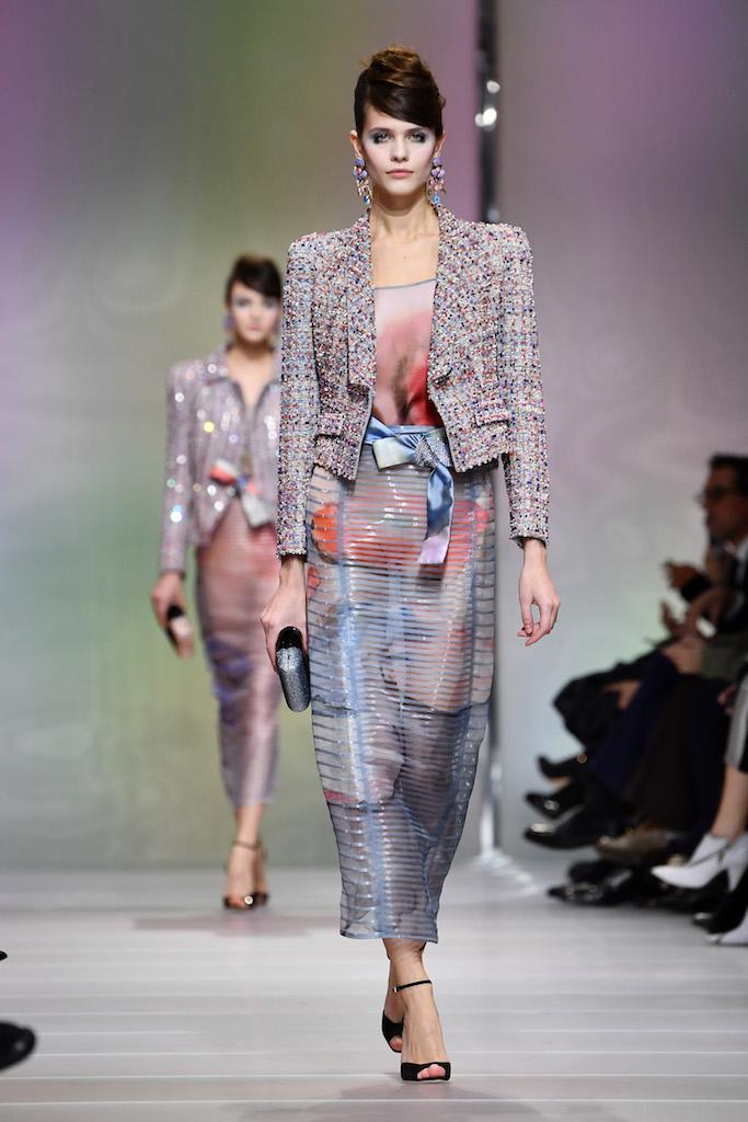 Giorgio Armani Privé Haute Couture Primavera-Estate 2018, le foto
