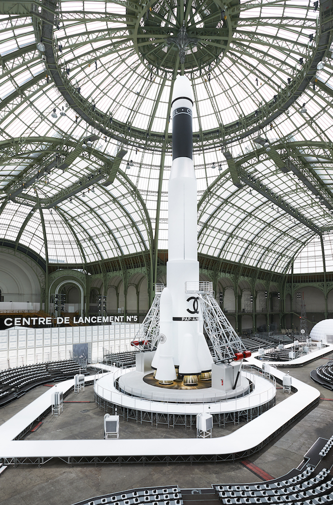 Chanel restaura il Grand Palais
