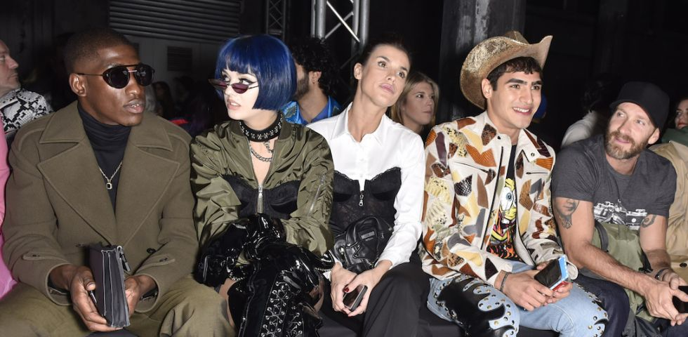 Sfilata Moschino: i vip in front row