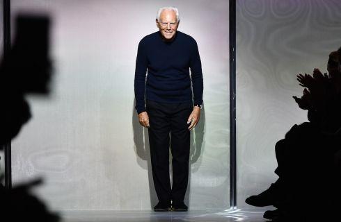 Sfilata Giorgio Armani: i vip in in front row