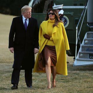 Copia il look: Melania Trump in Ohio