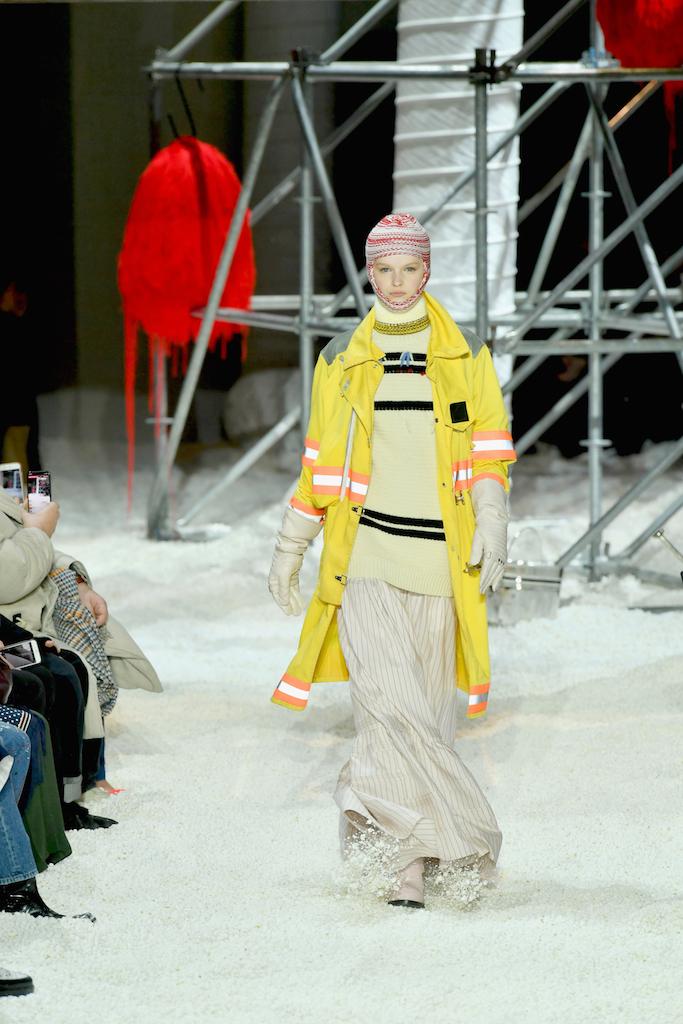 Calvin Klein, sfilata Autunno-Inverno 2018/19, le foto