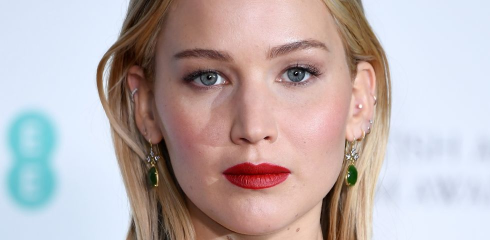 Il beauty look di Jennifer Lawrence ai BAFTA Awards 2018
