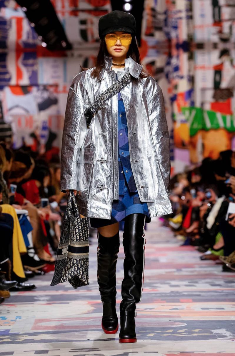 Christian Dior, la sfilata Autunno-Inverno 2018/19, le foto