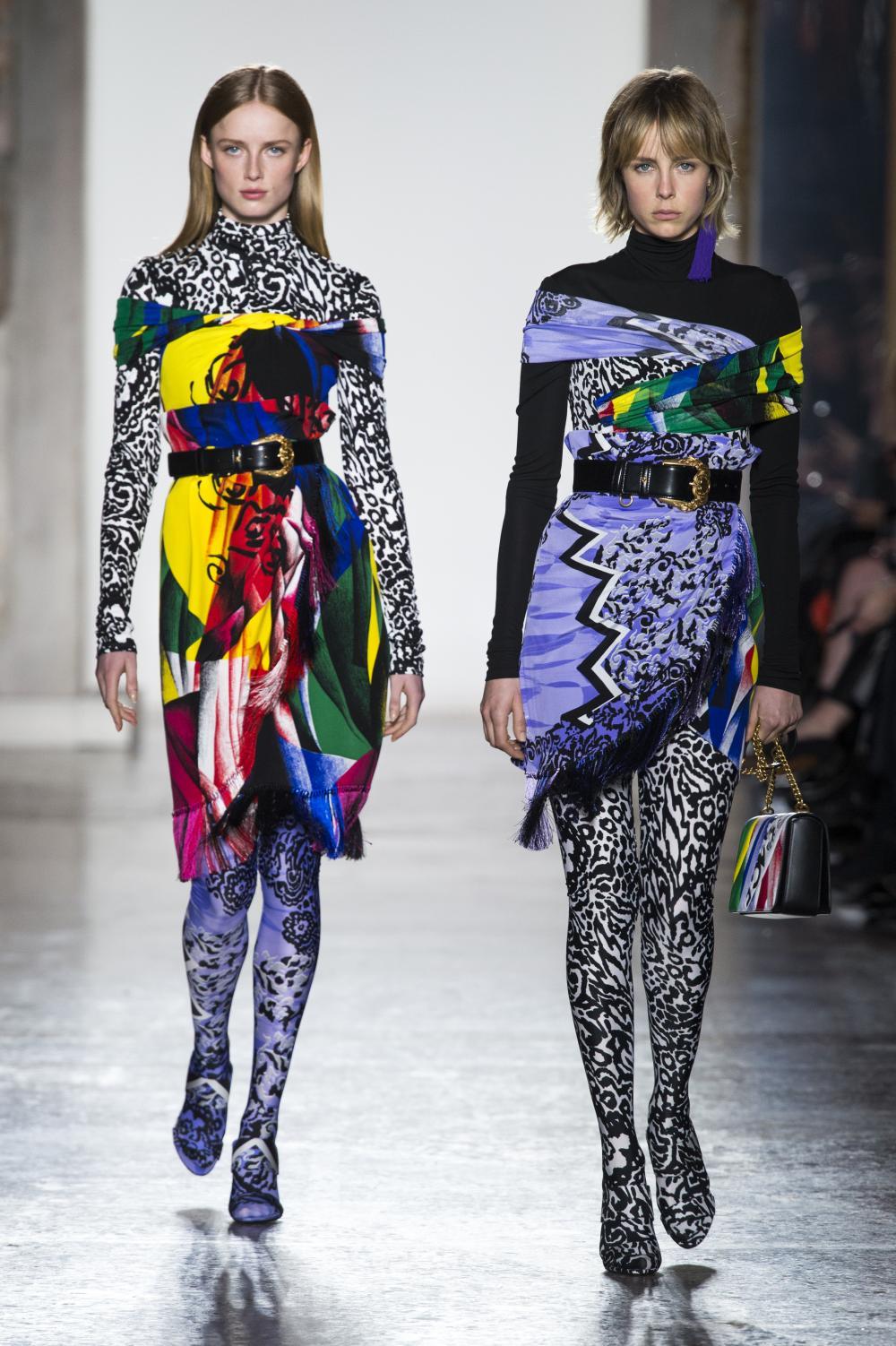 Versace, sfilata Autunno-Inverno 2018/19, le foto