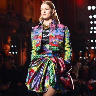 MFW: la sfilata di Versace