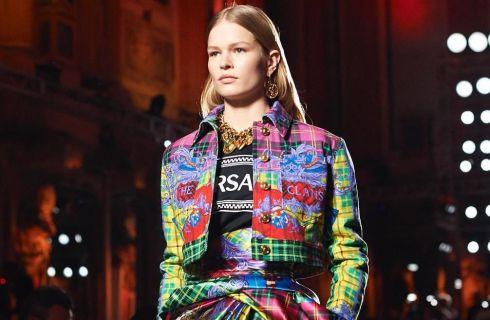 Versace: la sfilata Autunno-Inverno 2018/19
