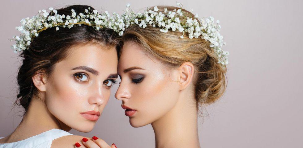 a996a555b51d Acconciature da sposa  i trend Primavera-Estate 2018